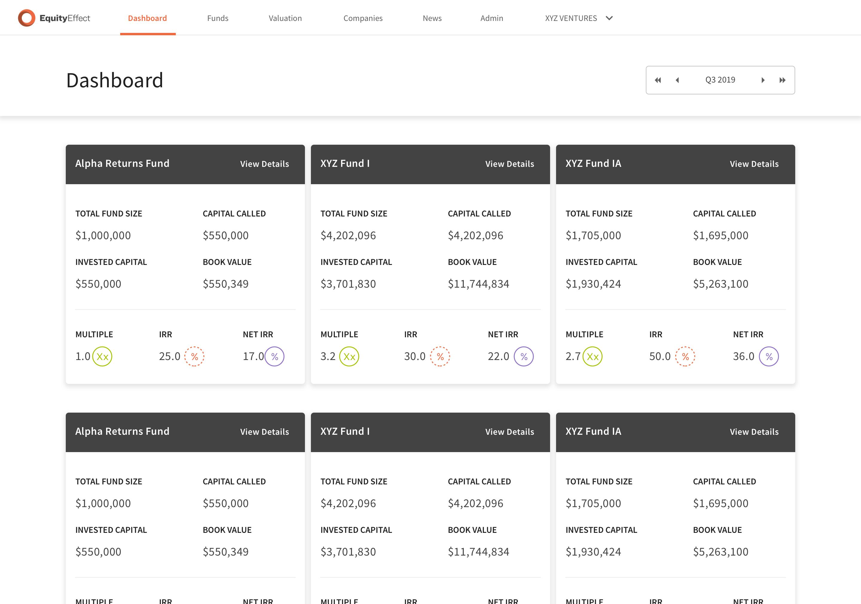 Multi-fund-dashboard